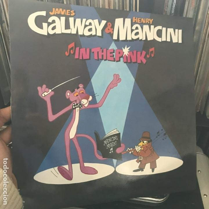 Discos de vinilo: James Galway & Henry Mancini ‎– In The Pink 1984 - Foto 1 - 194860287