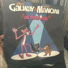 Discos de vinilo: JAMES GALWAY & HENRY MANCINI ‎– IN THE PINK 1984. Lote 194860287