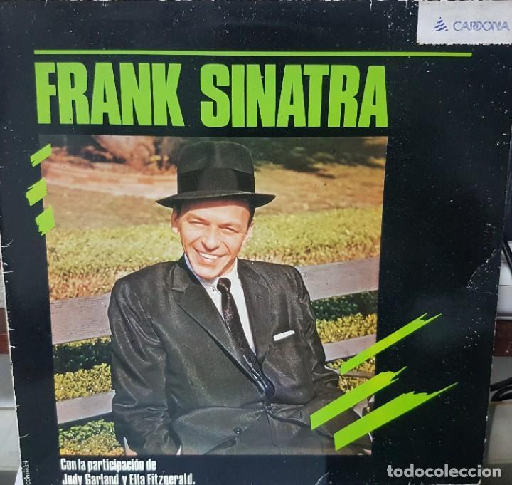 FRANK SINATRA CON LA PARTICIPACIÓN DE JUDY GARLAND Y ELLA FITZGERALD - ESPAÑA 1985 (Música - Discos - LP Vinilo - Cantautores Extranjeros)