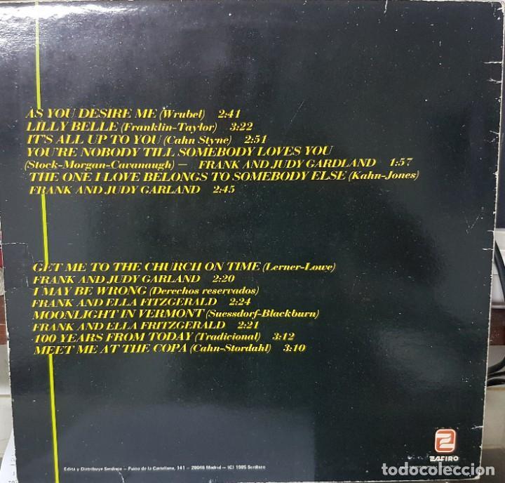 Discos de vinilo: Frank Sinatra con la participación de Judy Garland y Ella Fitzgerald - España 1985 - Foto 2 - 194860392