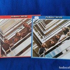Discos de vinilo: LOTE 2X LP THE BEATLES 1962-1966 Y 1967-1970 BUEN ESTADO - PRINTED IN GERMANY. Lote 194860446