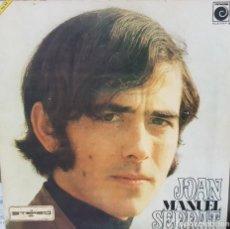 Discos de vinilo: JOAN MANUEL SERRAT - PORTADA ABIERTA Y COMPLETA CON SUS LÁMINAS - 1969 NOVOLA. Lote 194861023