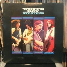 Discos de vinilo: WHITE BOY BLUES GAT 2LP 1985 ERIC CLAPTON, JOHN MAYALL, JEFF BECK Y JIMMY PAGE. Lote 194861633