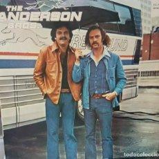 Discos de vinilo: LP SOUL ROCK THE ANDERSON BROTHERS - EDICIÓN ESPAÑA 1978. Lote 194862693