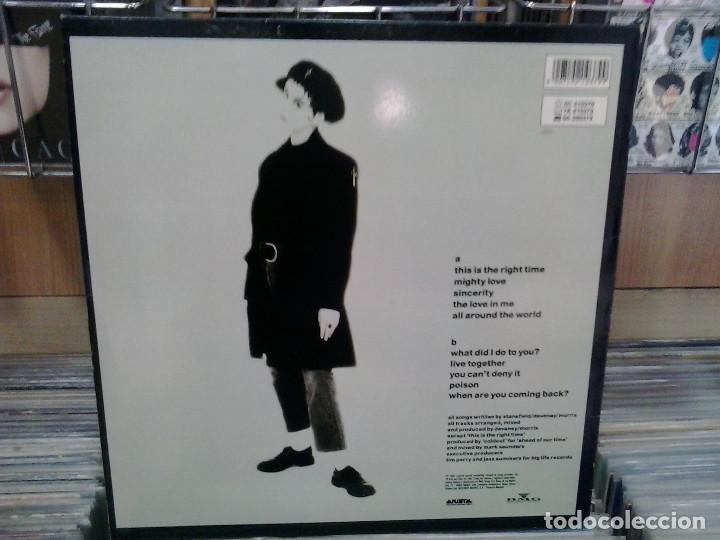 Discos de vinilo: LMV - Lisa Stansfield. Affection. Arista ‎1989, ref. 5C 210379 - Foto 2 - 194862906