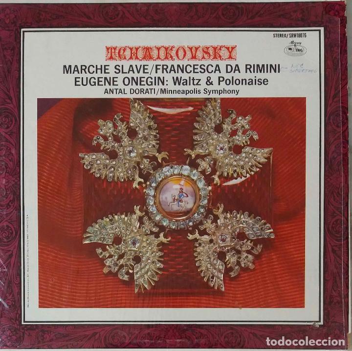 TCHAIKOVSKY. MARCHE SLAVEEUGENE ONEGIN.F. DA RIMINI. ANTAL DORATI.LP USA (Música - Discos - LP Vinilo - Clásica, Ópera, Zarzuela y Marchas)