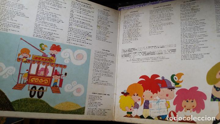Discos de vinilo: LA PANDILLA. - CANCIONES INFANTILES - OH MAMA - SAN ANTON - UN MUNDO NUEVO - Foto 2 - 194866232