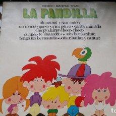 Discos de vinilo: LA PANDILLA. - CANCIONES INFANTILES - OH MAMA - SAN ANTON - UN MUNDO NUEVO. Lote 194866232
