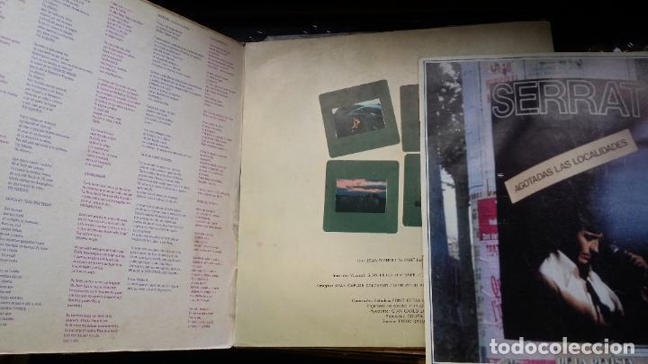 Discos de vinilo: JOAN MANUEL SERRAT - MEDITERRANEO - DOBLE CARPETA. LP SPAIN 1971 - Foto 2 - 194867483