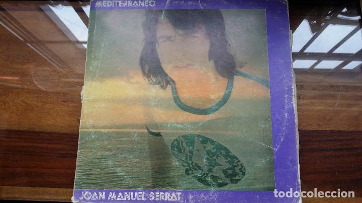 JOAN MANUEL SERRAT - MEDITERRANEO - DOBLE CARPETA. LP SPAIN 1971 (Música - Discos de Vinilo - EPs - Cantautores Españoles)