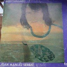 Discos de vinilo: JOAN MANUEL SERRAT - MEDITERRANEO - DOBLE CARPETA. LP SPAIN 1971. Lote 194867483