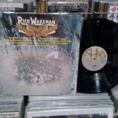 Discos de vinilo: LMV - RICK WAKEMAN. JOURNEY TO THE CENTRE OF THE EARTH. A & M RECORDS 1974. REF. 87745-E -- LP. Lote 194870876