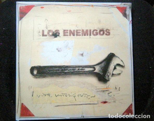 LOS ENEMIGOS VIDA INTELIGENTE (Música - Discos - LP Vinilo - Grupos Españoles de los 90 a la actualidad)