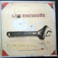 Discos de vinilo: LOS ENEMIGOS VIDA INTELIGENTE. Lote 194871052