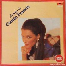 Discos de vinilo: CONNIE FRANCIS. LO MEJOR. LP ESPAÑA. Lote 194872032