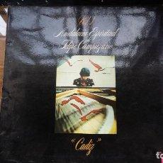 Discos de vinilo: FELIPE CAMPUZANO ANDALUCIA ESPIRITUAL VOL 1 CADIZ LP VINILO DEL AÑO 1977 GRAMUSIC, AMBAR. Lote 194872382