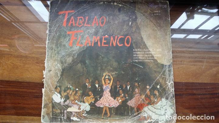 TABLAO FLAMENCO. 1967.PERGOLA.CIRCULO DE LECTORES. (Música - Discos - LP Vinilo - Flamenco, Canción española y Cuplé)