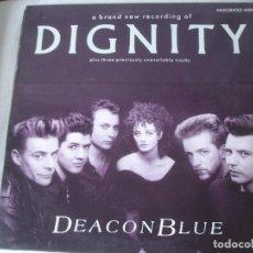 Discos de vinilo: DEACON BLUE DIGNITY. Lote 194873370