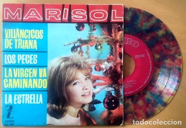 MARISOL - VINILO COLOREADO (Música - Discos de Vinilo - EPs - Solistas Españoles de los 50 y 60)