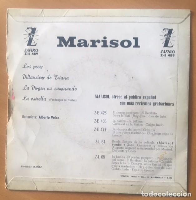 Discos de vinilo: MARISOL - VINILO COLOREADO - Foto 2 - 194873427