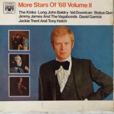 Discos de vinilo: MORE STARS OF 68. VOLUME II. THE KINKS.STATUS QUO.JACKIE TRENT,LONG JOHN BALDRY... LP UK. Lote 194874646