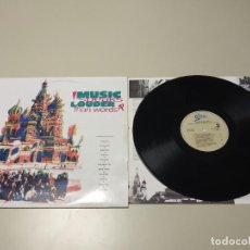 Discos de vinilo: 0220-MUSIC SPEAKS LOUDER THAN WORDS ESP 1990 LP VIN POR VG + DIS VG +/++ Nº2. Lote 194875547