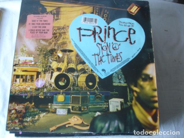 PRINCE SIGN O THE TIMES (Música - Discos - LP Vinilo - Funk, Soul y Black Music)