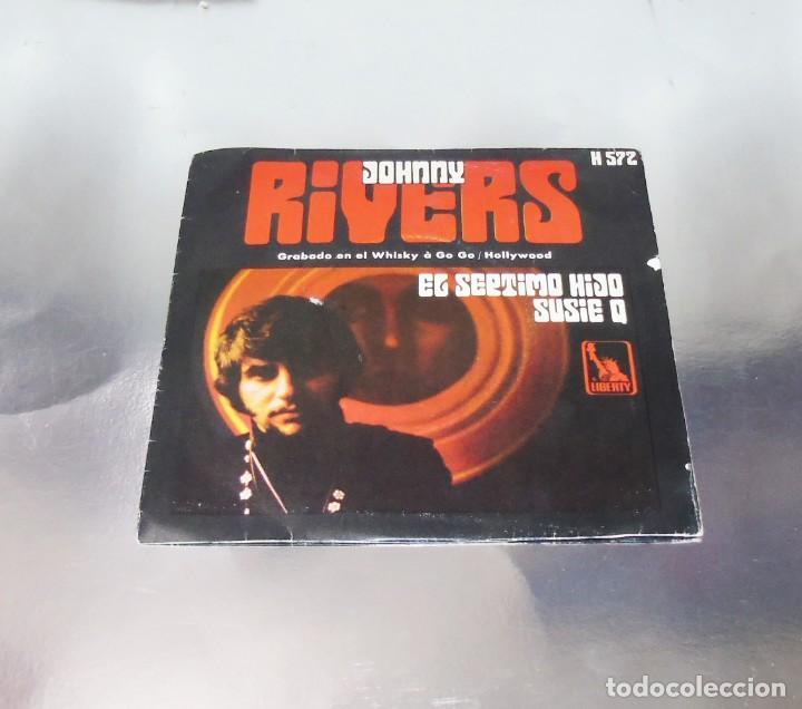 JOHNNY RIVERS --- SUSIE Q & SEVENTH SON (Música - Discos - Singles Vinilo - Pop - Rock Extranjero de los 50 y 60)