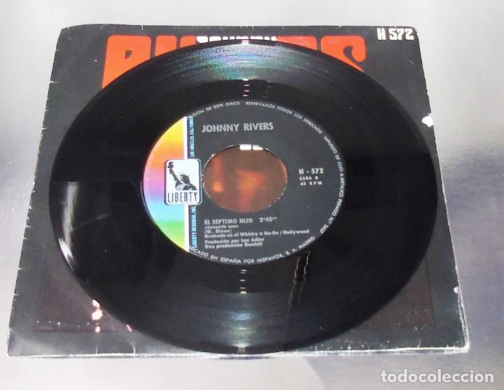 Discos de vinilo: JOHNNY RIVERS --- SUSIE Q & SEVENTH SON - Foto 2 - 194876705