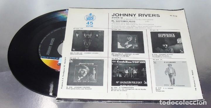 Discos de vinilo: JOHNNY RIVERS --- SUSIE Q & SEVENTH SON - Foto 3 - 194876705
