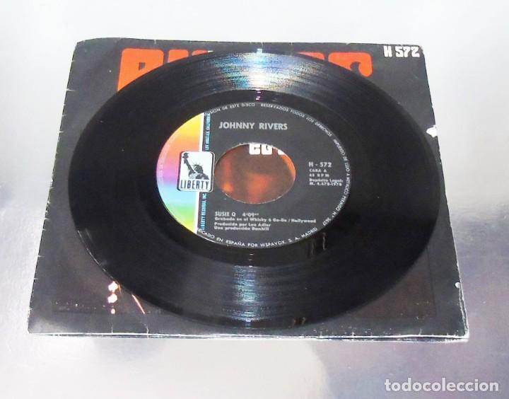 Discos de vinilo: JOHNNY RIVERS --- SUSIE Q & SEVENTH SON - Foto 4 - 194876705