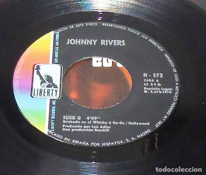 Discos de vinilo: JOHNNY RIVERS --- SUSIE Q & SEVENTH SON - Foto 5 - 194876705