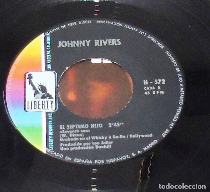 Discos de vinilo: JOHNNY RIVERS --- SUSIE Q & SEVENTH SON - Foto 6 - 194876705
