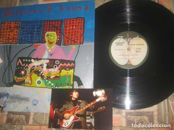 GEORGE HARRISON ELECTRONIC SOUND (ZAPPLE RECORDS-1969)ORIGINAL USA BEATLES +FOTO SIN SEÑALES DE USO (Música - Discos - LP Vinilo - Pop - Rock Extranjero de los 50 y 60)