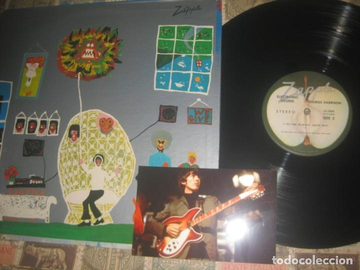 Discos de vinilo: GEORGE HARRISON Electronic Sound (zapple records-1969)original usa beatles +foto sin señales de uso - Foto 2 - 194877301