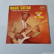 Discos de vinilo: WILSON AND HIS COMBO - MAGIC GUITAR ( WITH LATIN TWIST AND CUBAN MUSIC ). Lote 194877373