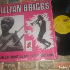 Discos de vinilo: LILLIAN BRIGGS LA GRAN SACERDOTISA DEL ROCK AND ROLL (COCODRILO -1985) EDITADO ESPAÑA ROCKABILLY. Lote 194877711