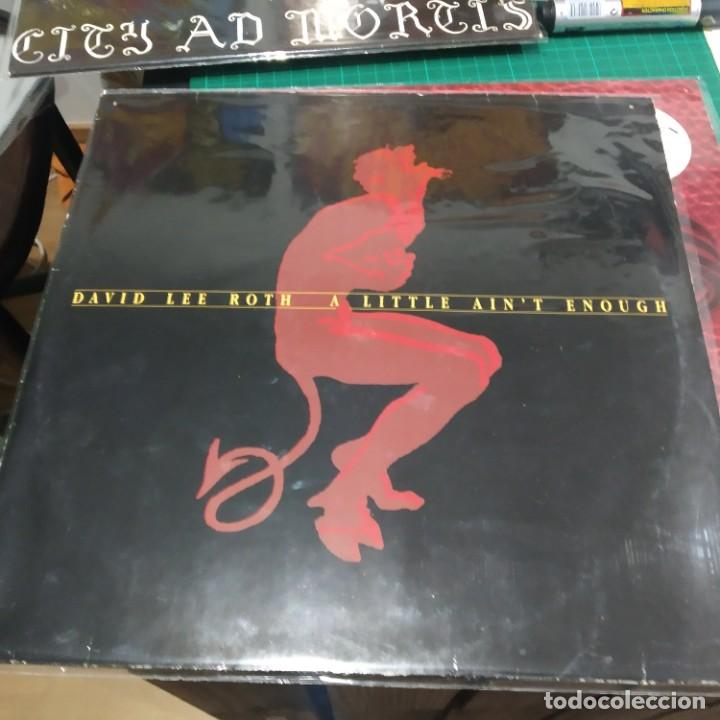 Discos de vinilo: LP DAVID LEE ROTH A LITTLE AINT ENOUGHT VG+ / VG+ MUY BUEN SONIDO - Foto 1 - 194878393