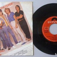 Discos de vinilo: SAGA / THE FLYER (EL VOLADOR) / SINGLE 7 INCH. Lote 194878437