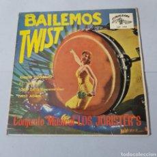 Discos de vinilo: LOS JORISTER'S - BAILEMOS UN TWIST - RAPIDO GONZALEZ - EL TWIST - FORTY DAYS - TWIST AGAIN. Lote 194878935