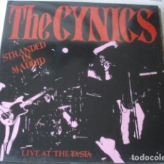 Discos de vinilo: THE CYNICS STRANDED IN MADRID LIVE AT THE YA'STA. Lote 194879816