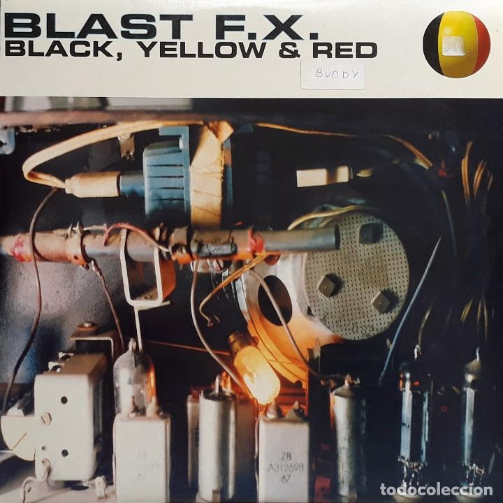 BLAST F.X. - BLACK, YELLOW & RED (Música - Discos de Vinilo - Maxi Singles - Techno, Trance y House)