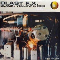 Discos de vinilo: BLAST F.X. - BLACK, YELLOW & RED. Lote 194879835