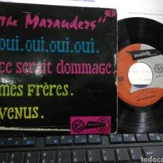 Discos de vinilo: THE MARAUDERS EP OUI,OUI,OUI,OUI + 3 FRANCIA. Lote 194880110