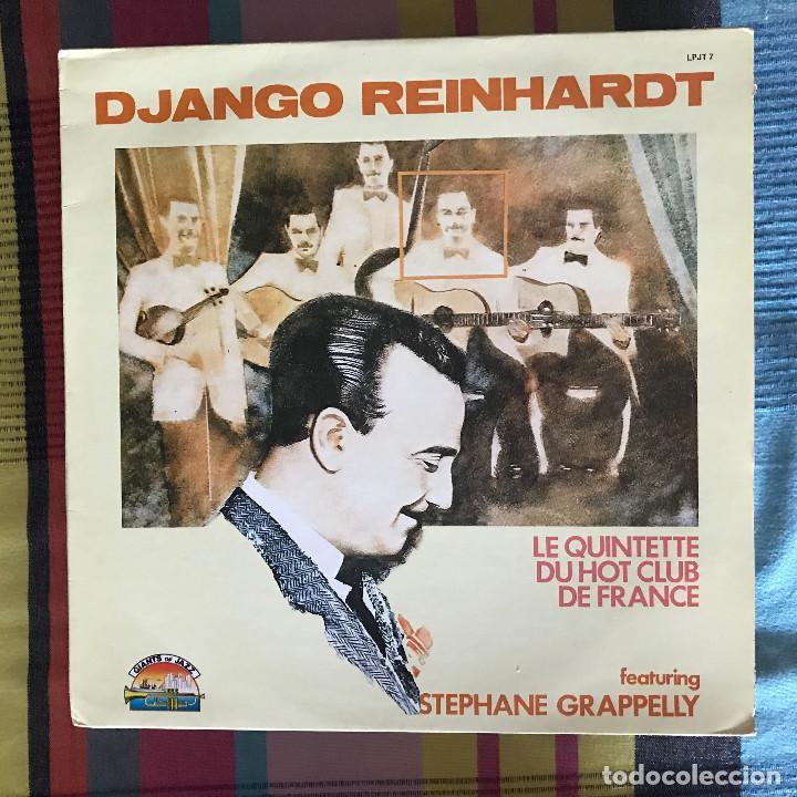 DJANGO REINHARDT - LE QUINTETTE DU HOT CLUB DE FRANCE - LP GIANTS OF JAZZ ITALIA 1984 (Música - Discos - LP Vinilo - Jazz, Jazz-Rock, Blues y R&B)