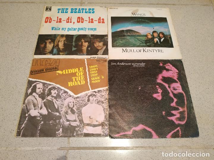 LOTE DE 24 DISCOS PEQUEÑOS DE VINILO DE 7 A 45 RPM - SINGLES Y EPS MUY ANTIGUOS - TODOS EN FOTOS (Música - Discos - Singles Vinilo - Otros estilos)