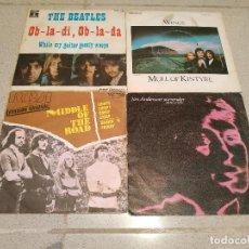Discos de vinilo: LOTE DE 24 DISCOS PEQUEÑOS DE VINILO DE 7'' A 45 RPM - SINGLES Y EP'S MUY ANTIGUOS - TODOS EN FOTOS. Lote 194882516