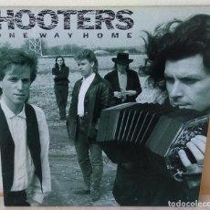Discos de vinilo: HOOTERS - ONE WAY HOME C B S - 1987. Lote 194882527