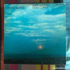 Discos de vinilo: GARY BURTON & CHICK COREA - CRYSTAL SILENCE (1973) - LP ECM SPAIN 1980. Lote 194883135