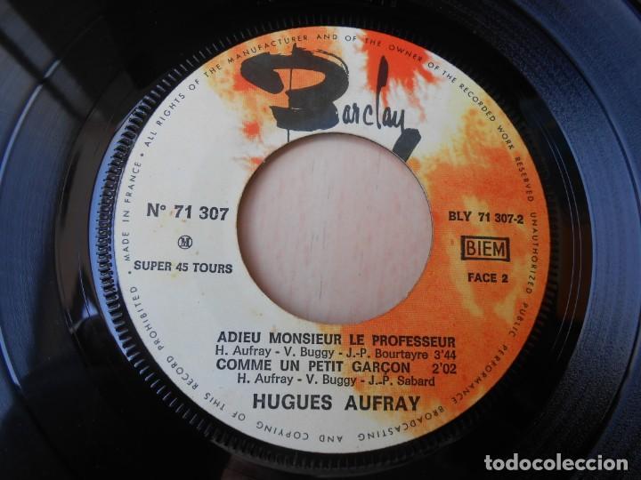 Discos de vinilo: HUGUES AUFRAY, EP, PETIT SIMON + 2, AÑO 19?? MADE IN FRANCE - Foto 4 - 194883368
